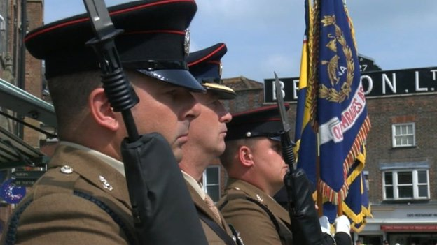 42 Engineer Regiment (Geographic) in Newbury