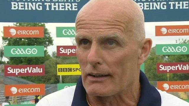 Antrim manager Liam Bradley