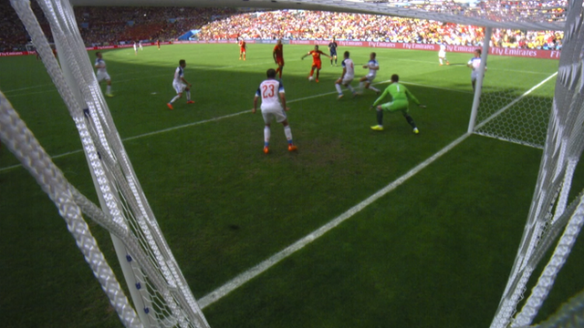 Belgium's Divock Origi scores late on