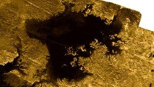 Ligeia Mare, Titan