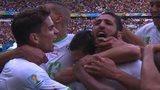 Algeria celebrate goal