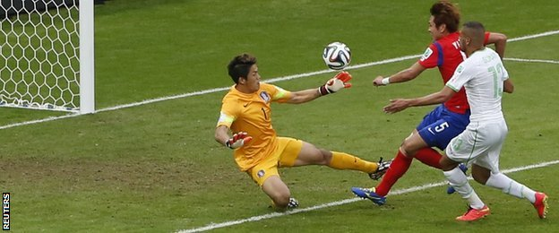 _75730938_slimani_reuters - WORLD CUP 2014 - World Cup Football | Fifa Soccer