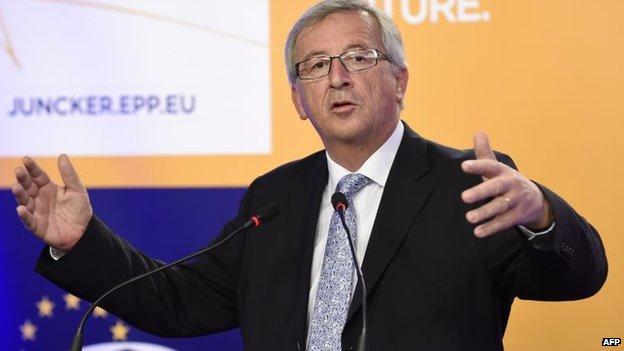 File photo: Jean-Claude Juncker, 25 May 2014