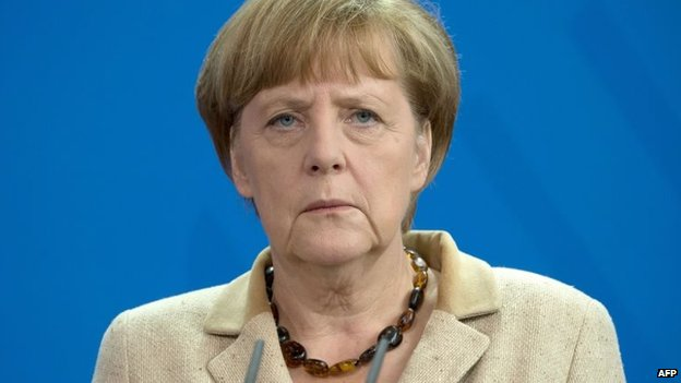 File photo: Angela Merkel, 20 June 2014