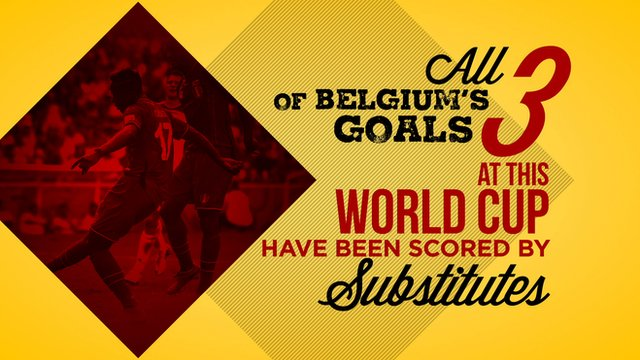 BBC Sport looks at the facts and figures from day 11 of the Fifa 2014 World Cup featuring Belgium and Portugal