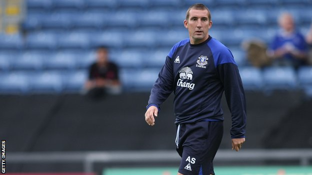 Alan Stubbs was in charge of Everton's Under-21 side