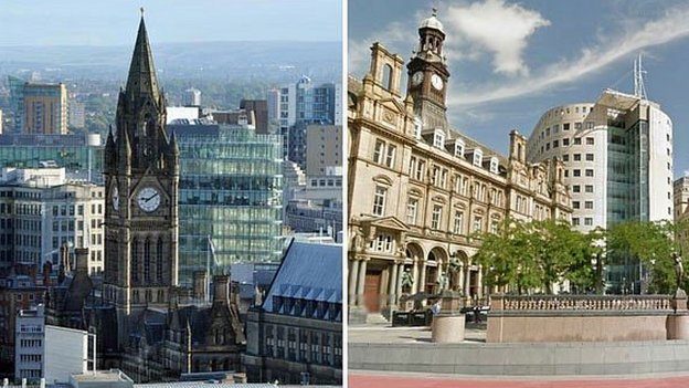 Manchester and Leeds composite