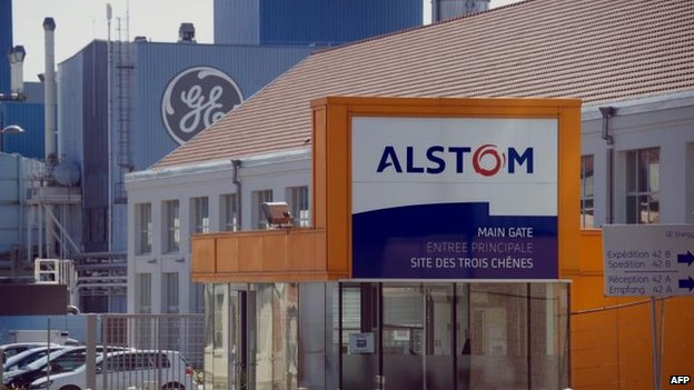 Alstom and GE signs