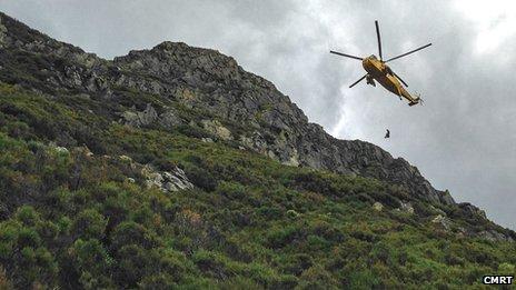 Grassmoor Point rescue