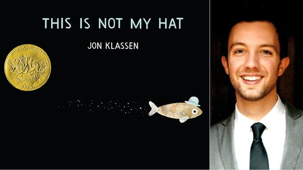 Jon Klassen and his second book This is Not My Hat