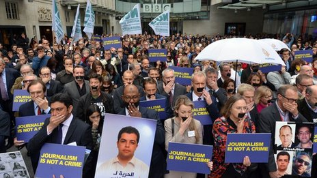 Silent protest at NBH in April