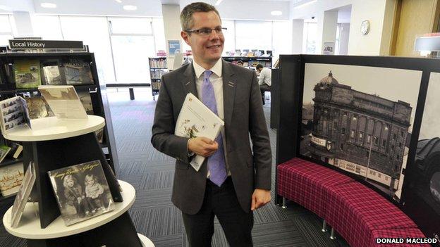 Planning Minister Derek Mackay