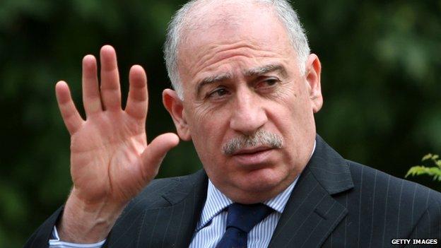 Iraqi Speaker Osama Nujaifi