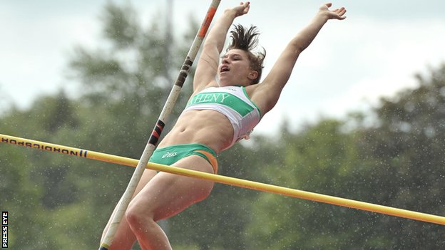 Zoe Brown competed in gymnastics for NI at the 1998 Commonwealth Games