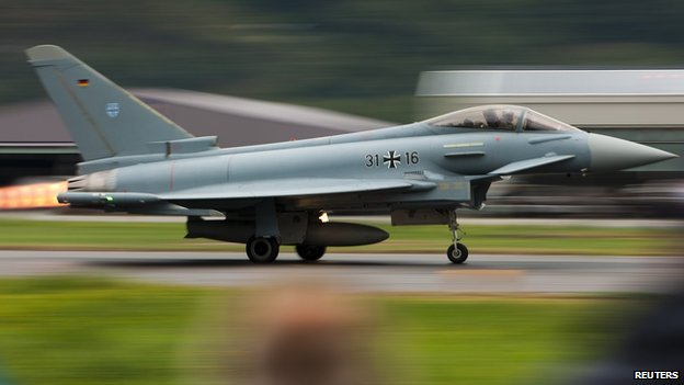 German Eurofighter - file pic