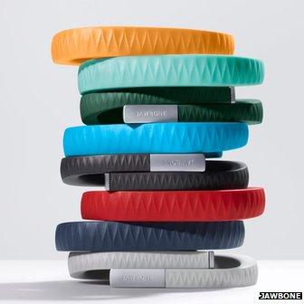 Jawbone wristbands