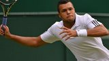 Jo-Wilfried Tsonga at Wimbledon 2013
