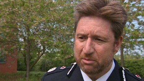 Norfolk Police chief constable Simon Bailey