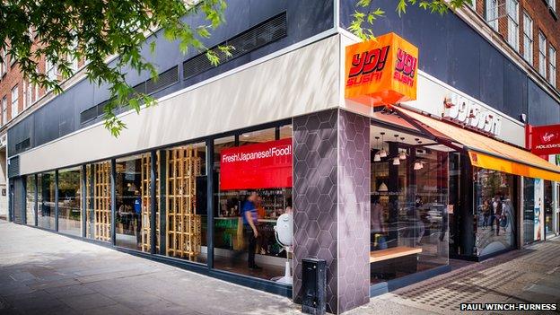 Yo! Sushi branch