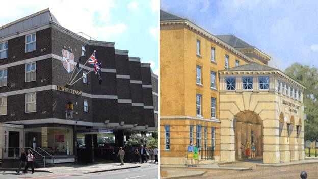 University Arms Hotel, Cambridge
