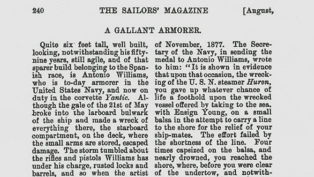 Passage from The Sailors' Magazine