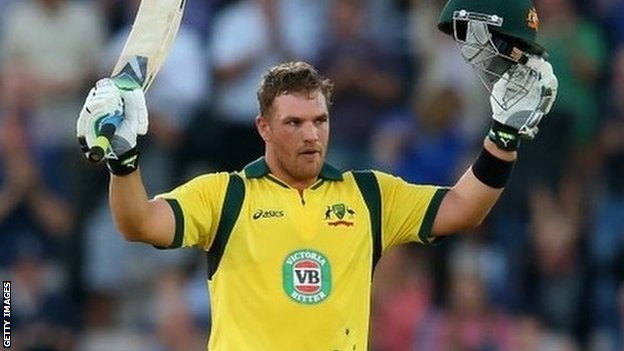 Australian one-day international Aaron Finch had only two hit two first-class centuries in 42 previous matches