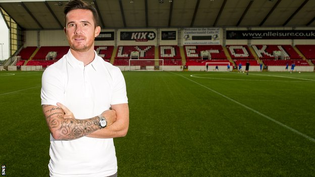 New Clyde player-manager Barry Ferguson