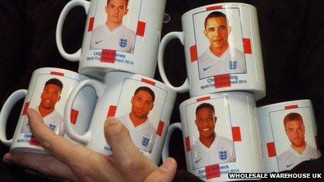 Unofficial England mugs