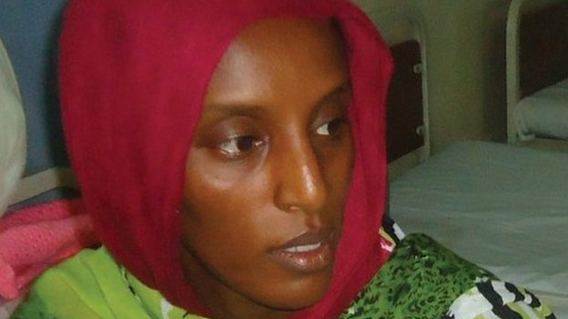 Meriam Yahia Ibrahim Ishag, a 27-year-old Sudanese woman who had been sentenced to hang for apostasy