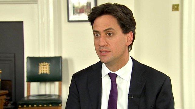 Labour leader Ed Miliband MP