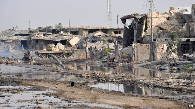 Ramadi, in Anbar province, 24 June
