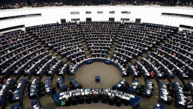 European Parliament in Strasbourg (12 March 2014)