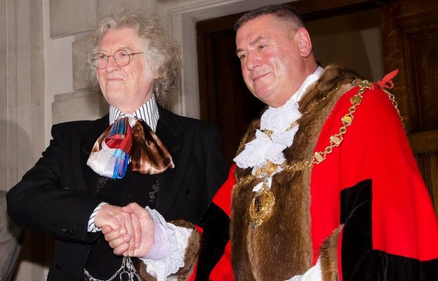 Noddy Holder and Pete Smith