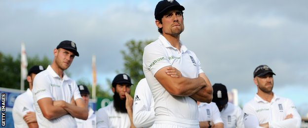 England captain Alastair Cook reflects on a sixth defeat in seven Tests