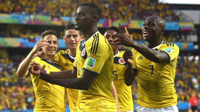 World Cup 2014: Japan 1-4 Colombia highlights