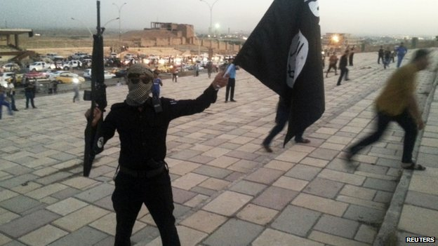 An insurgent, spearheaded by Islamists fighting under the banner of the Islamic State of Iraq and the Levant (Isis), appeared in Mosul, Iraq, (23 June 2014)