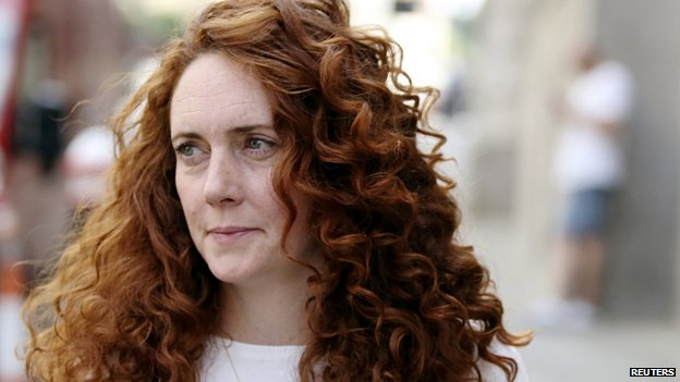 Rebekah Brooks leaves court