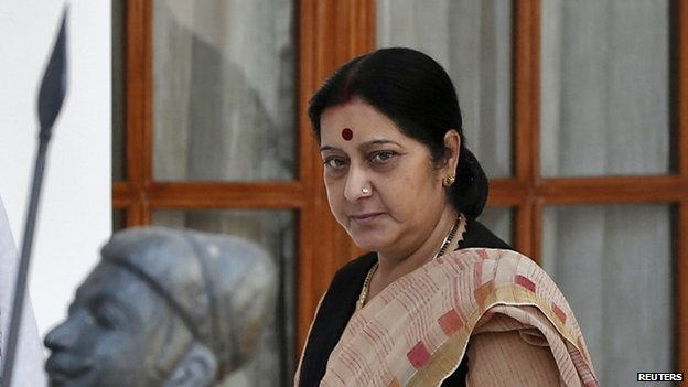 Foreign Minister Sushma Swaraj will reach Bangladesh on Wednesday