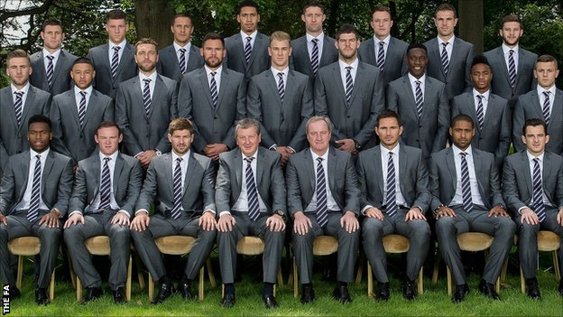 England's World Cup squad