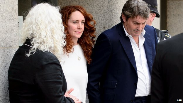 Rebekah Brooks and Charlie Brooks