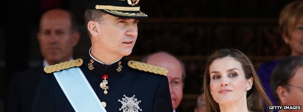 Felipe and Letizia (19 June)