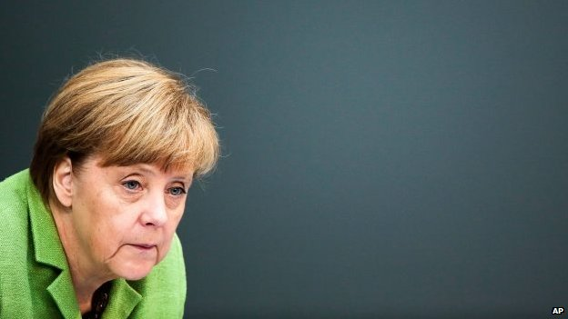 File photo: Angela Merkel, 24 June 2014