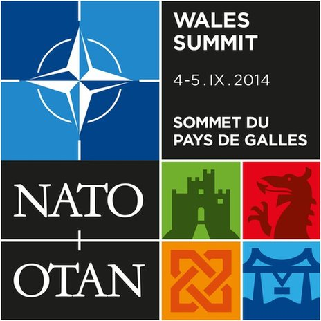 Nato summit logo