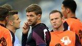 Jack Wilshere, Steven Gerrard and Wayne Rooney