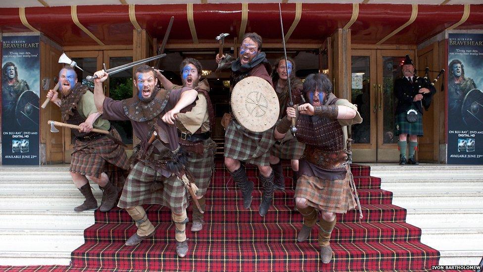 Braveheart clansmen