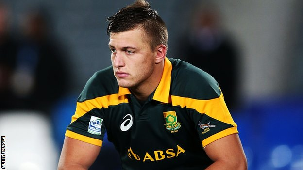 Handre Pollard captained South Africa to second place at the Junior Rugby World Cup in New Zealand