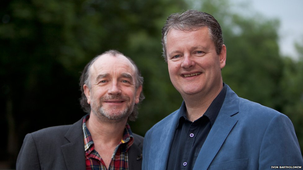 Jim Twaddale and Martin McCardie