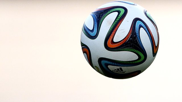 FIFA's official World Cup football the Brazuca