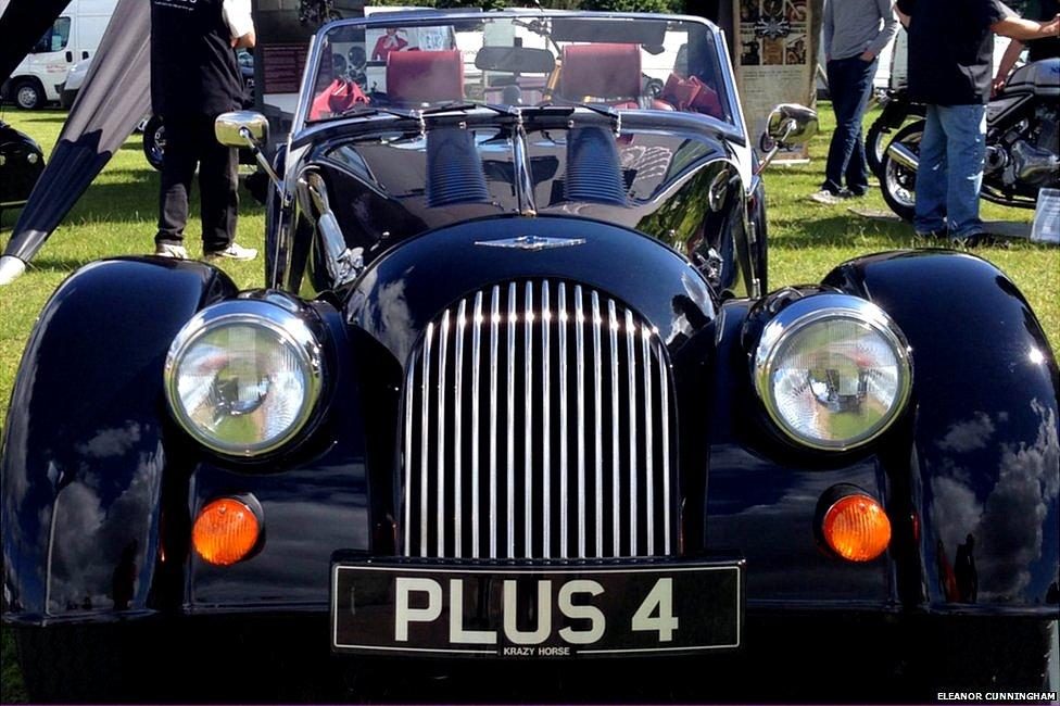 Aston Martin vintage car