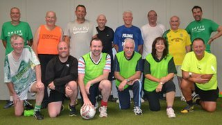 The walking footballers from East Lothian